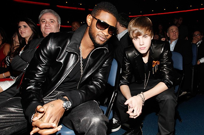Usher and His Protege in 2010