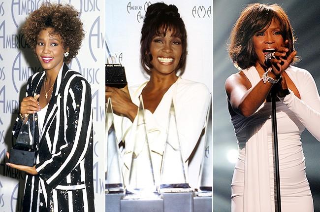 Whitney Houston's Many Appearances