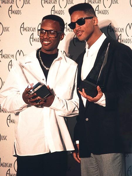 DJ Jazzy Jeff & The Fresh Prince in 1989