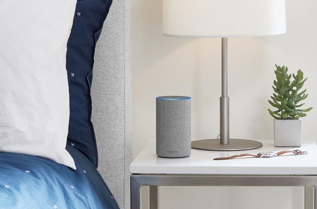 Amazon Echo in Light Gray