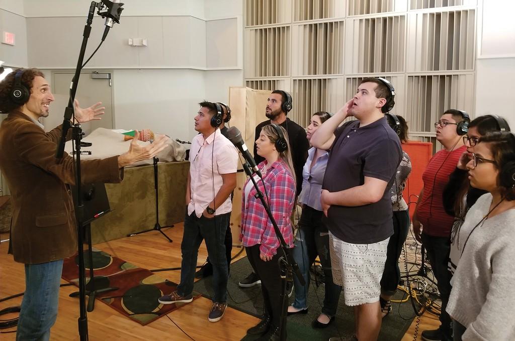 choir of Dreamer singers