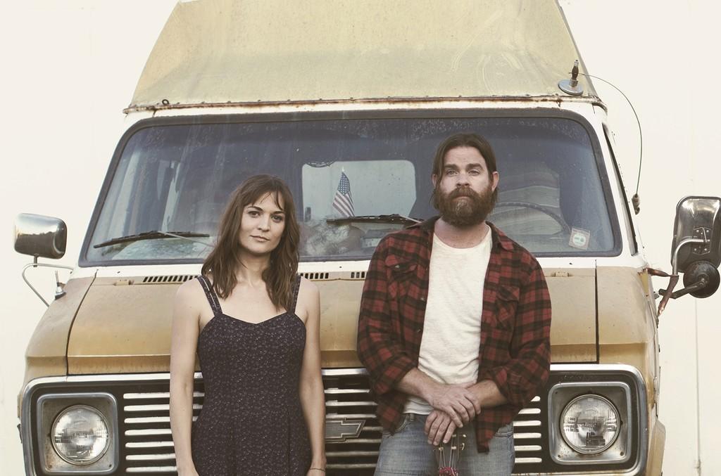 Amber Rubarth and Joe Purdy in American Folk