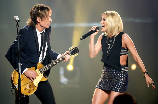 Keith Urban & Carrie Underwood on 'Idol' Finale
