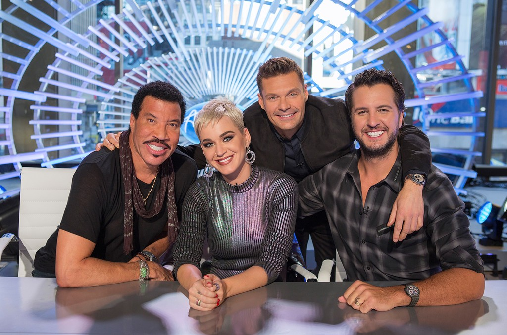 Lionel Richie, Katy Perry and Luke Bryan & Ryan Seacrest