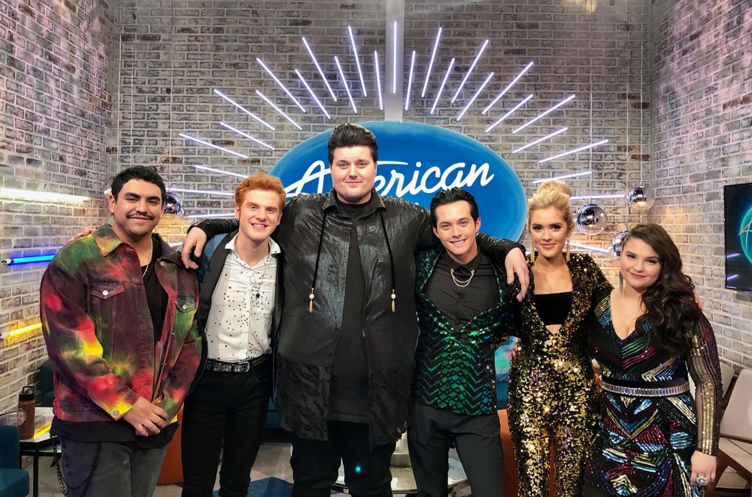 American Idol Top 6 Contestants