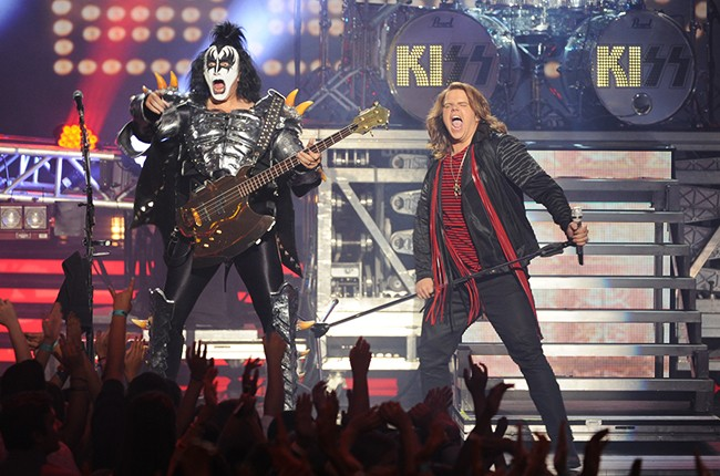 Caleb Johnson and special guest performers KISS