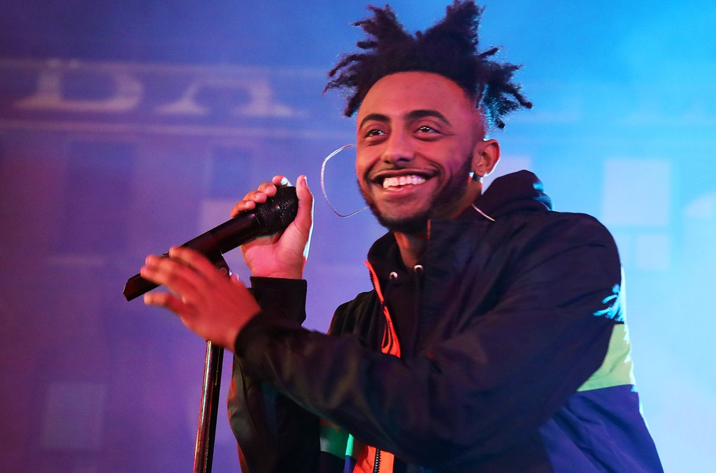 Amine performs onstage at MTV's 'Wonderland' LIVE Show on Nov. 17, 2016 in Los Angeles.
