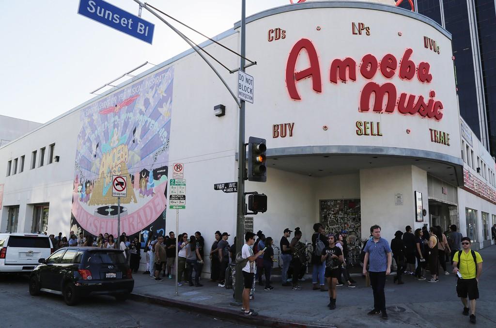 Amoeba Music on Nov. 11, 2016 in Hollywood, Calif.