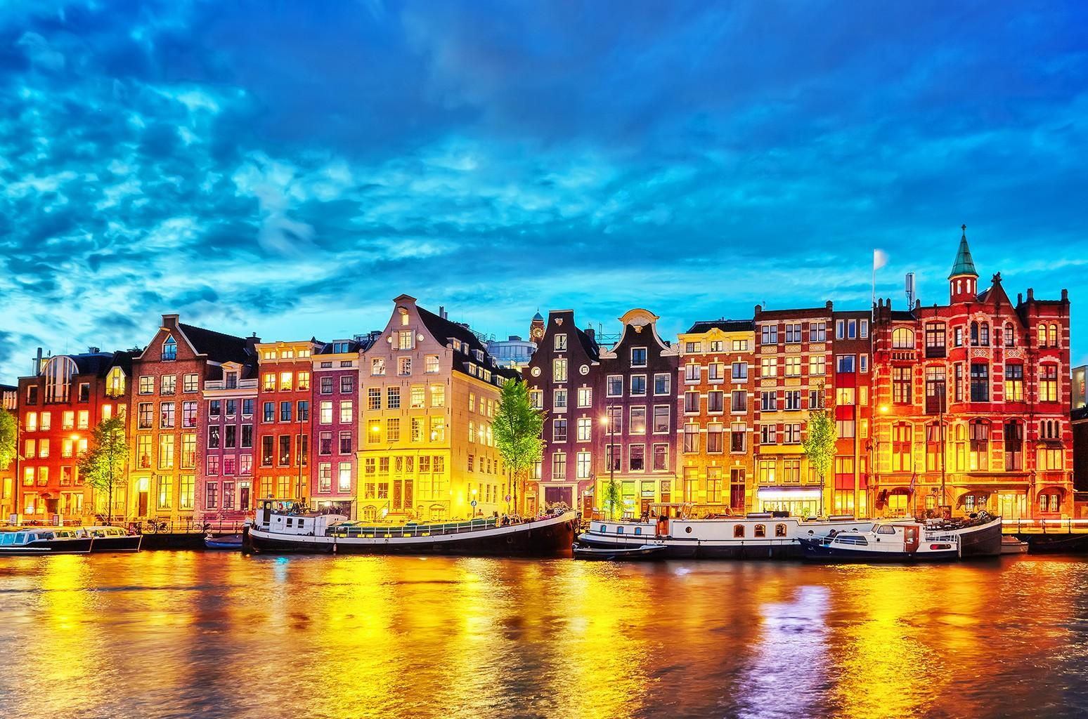 Vibrant Amsterdam - Netherlands - World for Travel