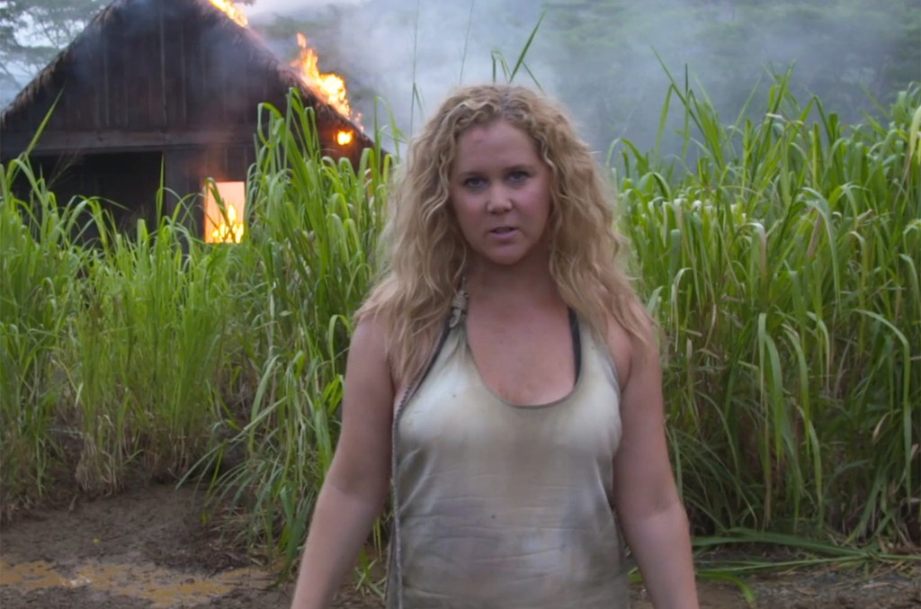 """Amy Schumer in a spoof of Beyonce's """"Formation."""""""