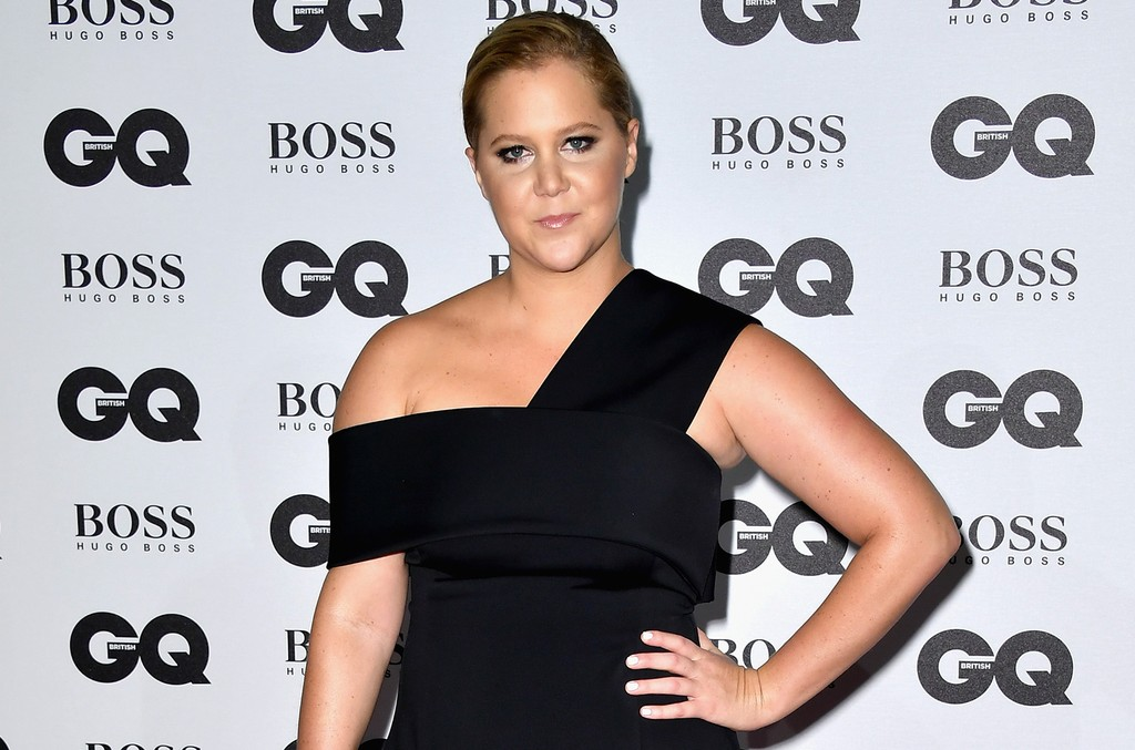 Amy Schumer arrives for GQ Men Of The Year Awards 2016