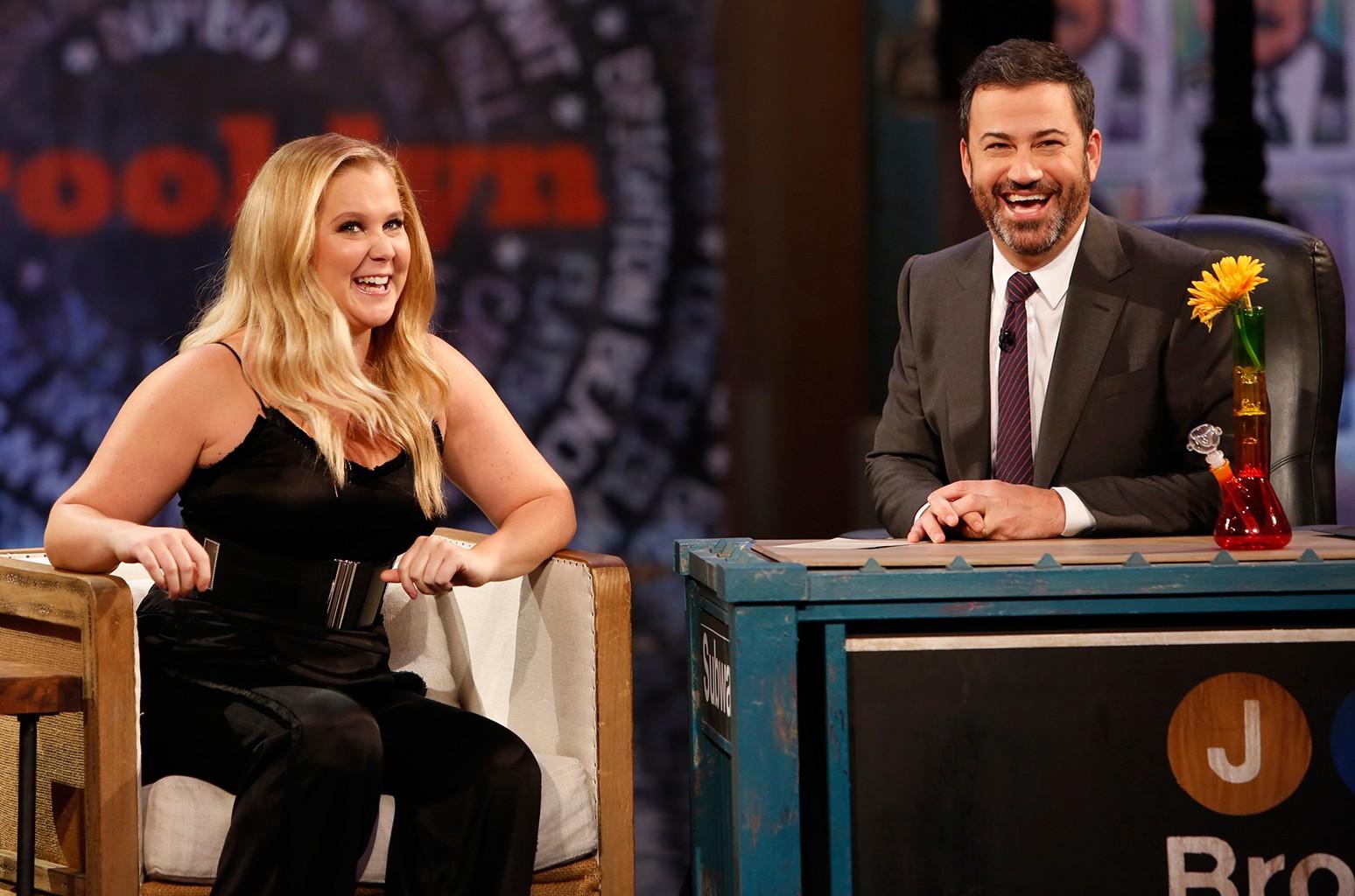 Amy Schumer & Jimmy Kimmel