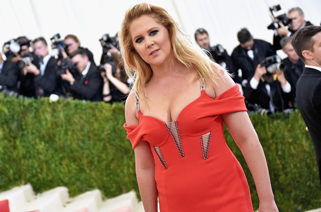 Amy Schumer attends the Costume Institute Gala at Metropolitan Museum of Art