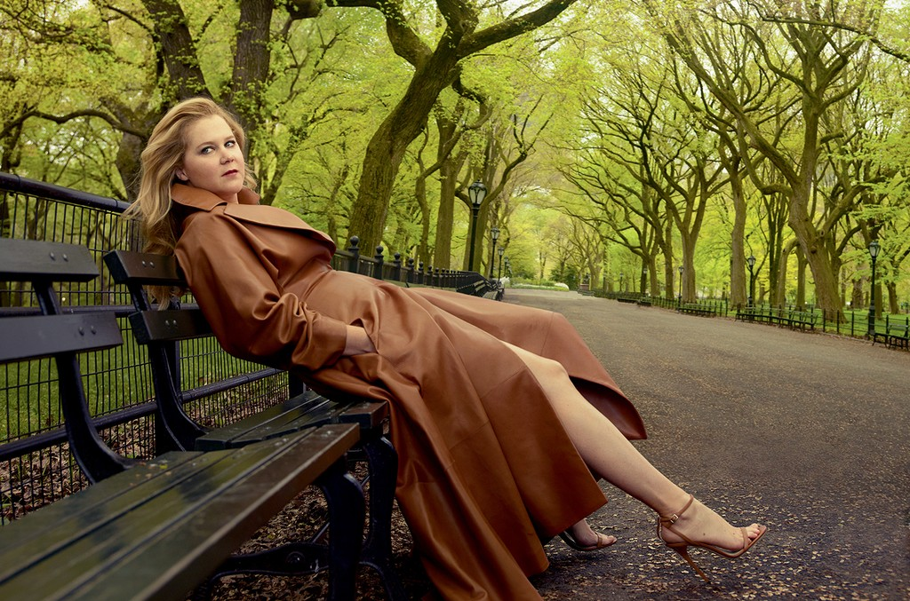 Amy Schumer in of the July issue of Vogue.