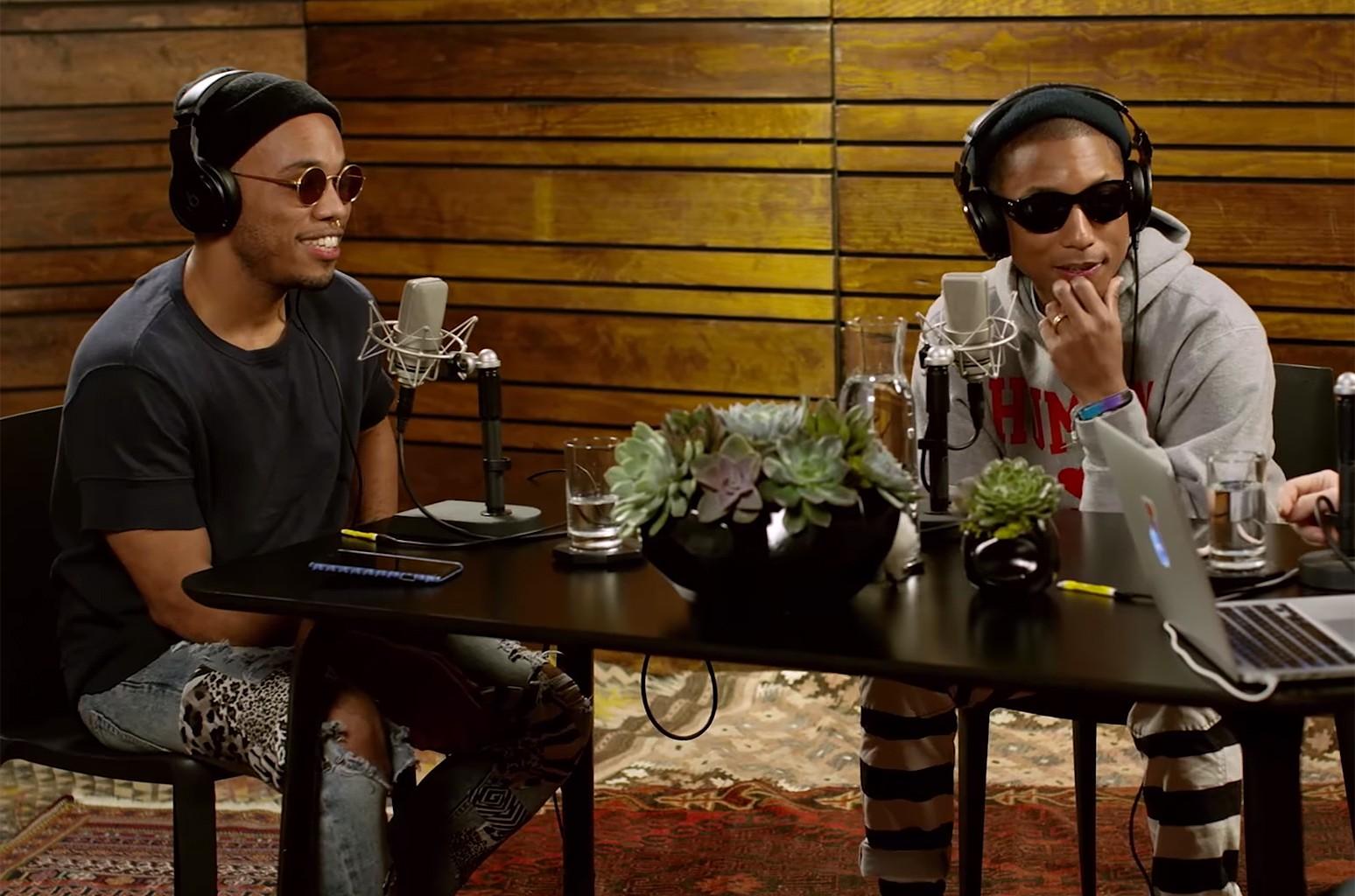"Anderson .Paak & Pharrell Williams, ""OTHERtone on Beats1"""