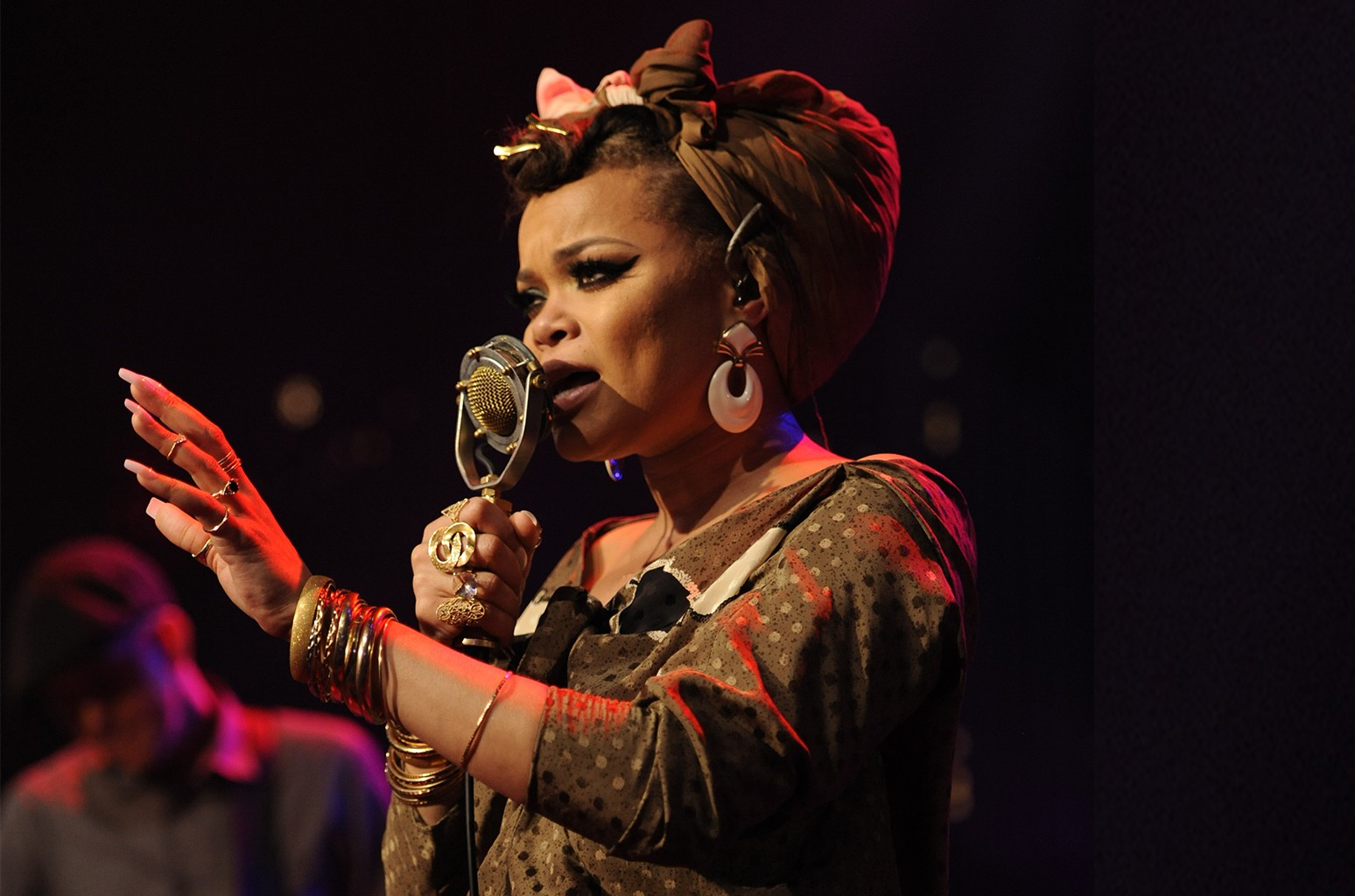 Andra Day during ACL Live