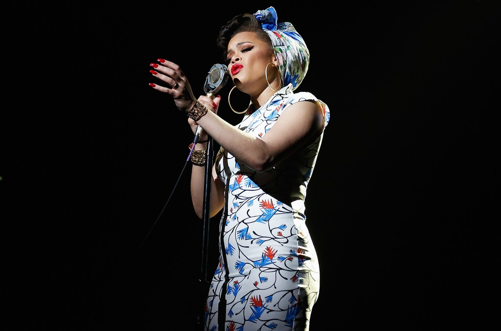 Andra Day performs in New York City