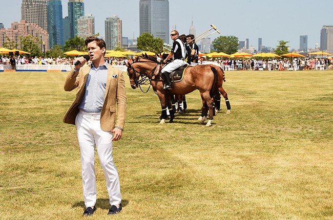 Andrew Rannells attends the Eighth-Annual Veuve Clicquot Polo Classic