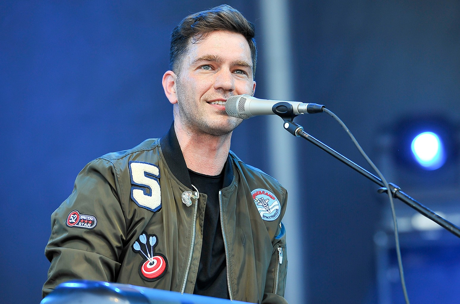 Andy Grammer performs in 2016