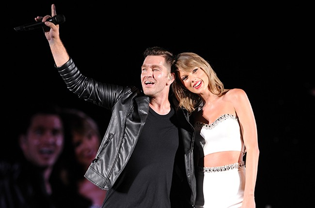 Andy Grammer and Taylor Swif