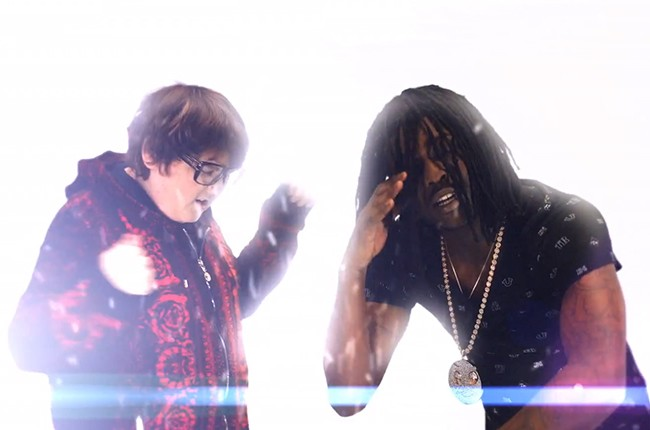Andy Milonakis and Chief Keef