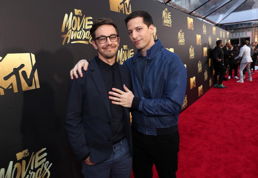 Jorma Taccone and Andy Samberg 2016 mtv movie awards