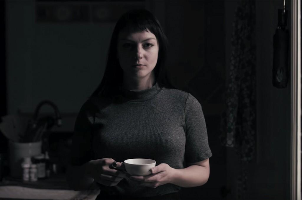 Angel Olsen in the video for Pops