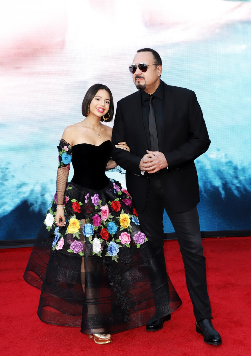 Angela Aguilar and Pepe Aguilar