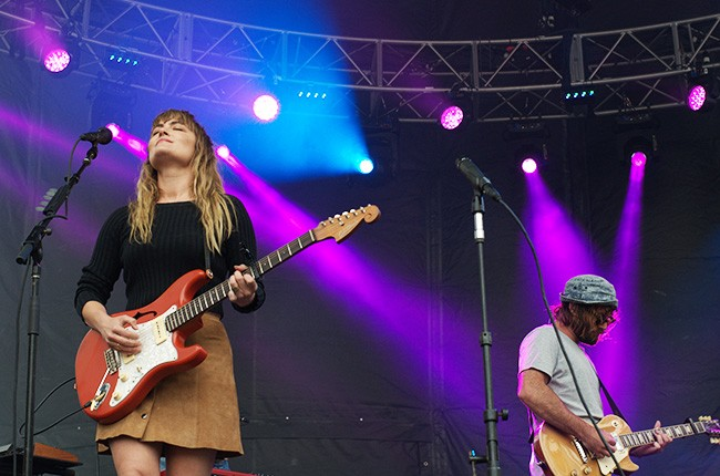 Angus & Julia Stone performing at 2015 Outside Lands