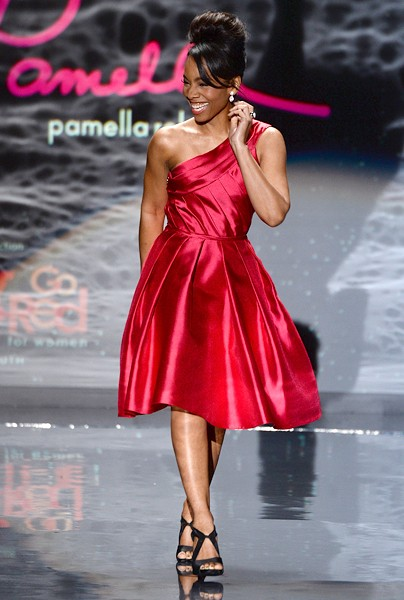 anika-noni-rose-red-dress-event-nyfw-fall2014-600