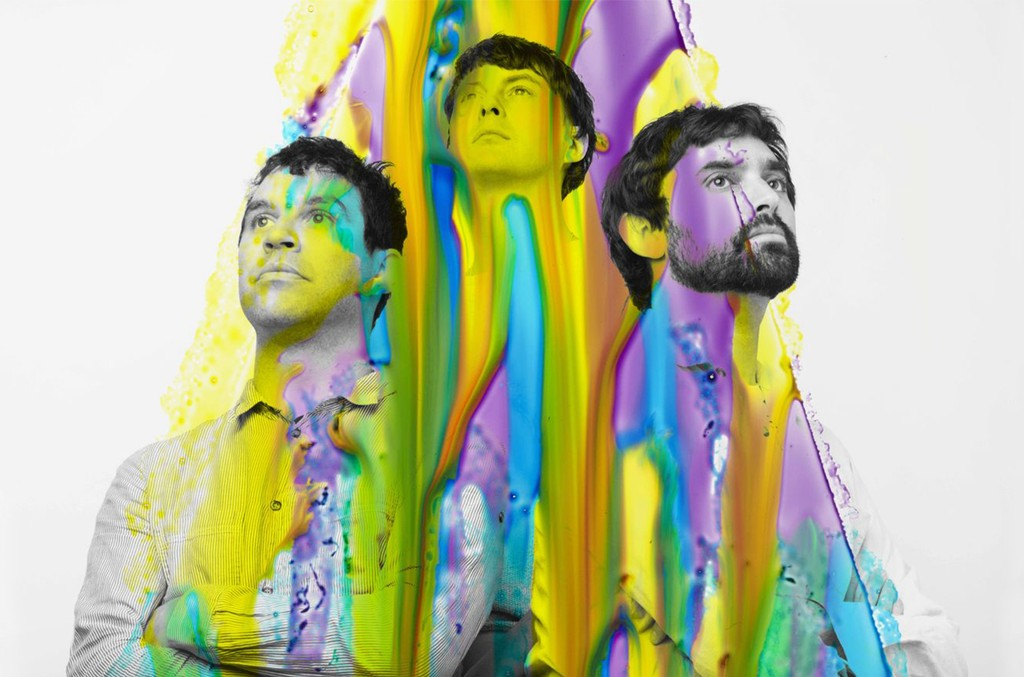 Animal Collective photographed in 2016.