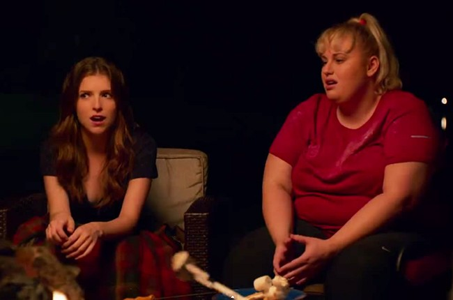 Anna Kendrick and Rebel Wilson in Pitch Perfect 2