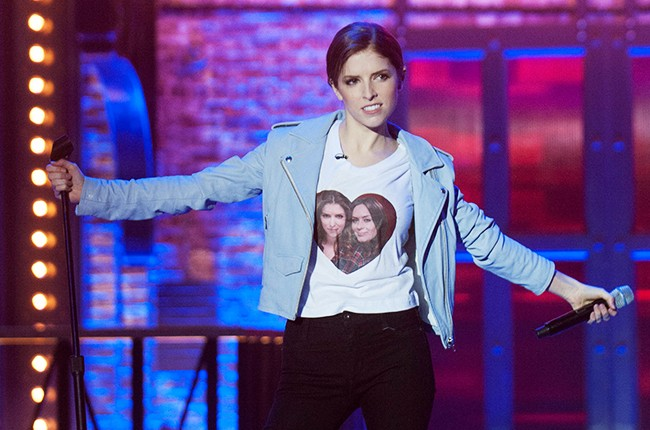 """Anna Kendrick performs One Direction's """"Steal My Girl"""" on Spike TV's lip Sync Battle."""