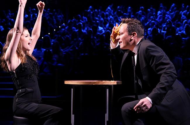 Anna Kendrick and Jimmy Fallon