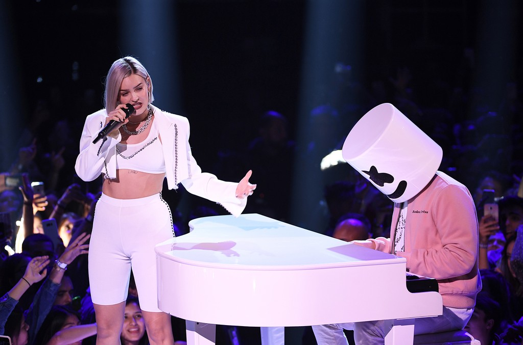 Anne Marie and Marshmello