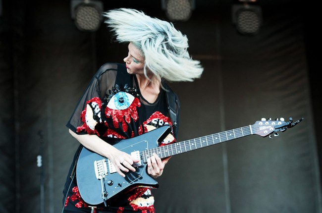Austin City Limits 2014 -- Annie Clark of St. Vincent