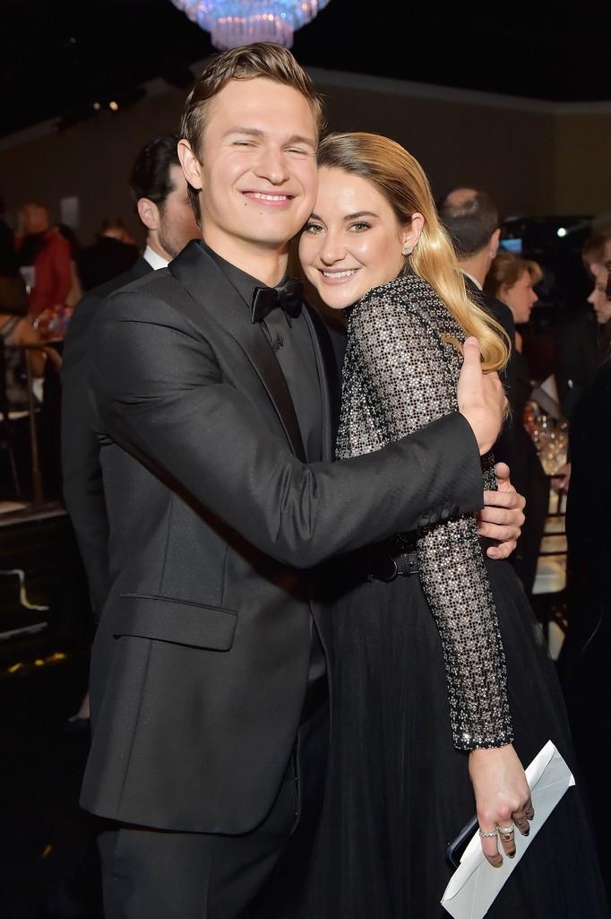 Ansel Elgort & Shailene Woodley, 2018