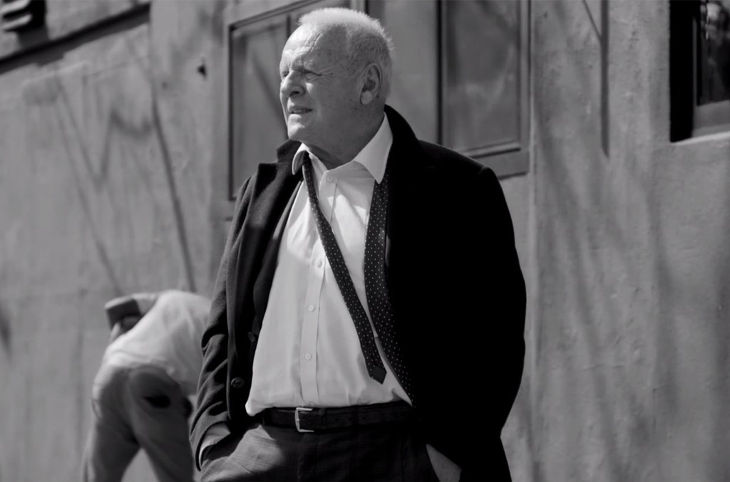 """Anthony Hopkins in the video for """"I Forgive it All"""" by Mudcrutch."""