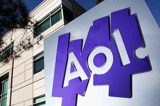 The AOL Inc. offices on February 7, 2011 in Palo Alto, California.