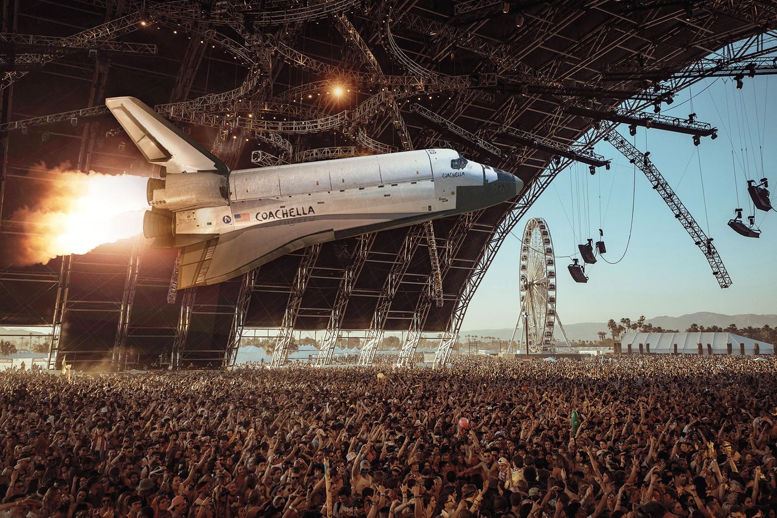 AR spaceship
