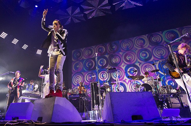 Arcade Fire performs at Barclays Center in Brooklyn