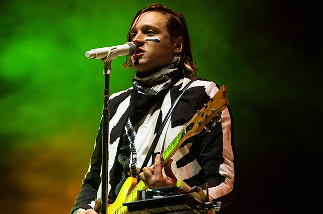 Arcade Fire performs at Squamish Valley Music Festival