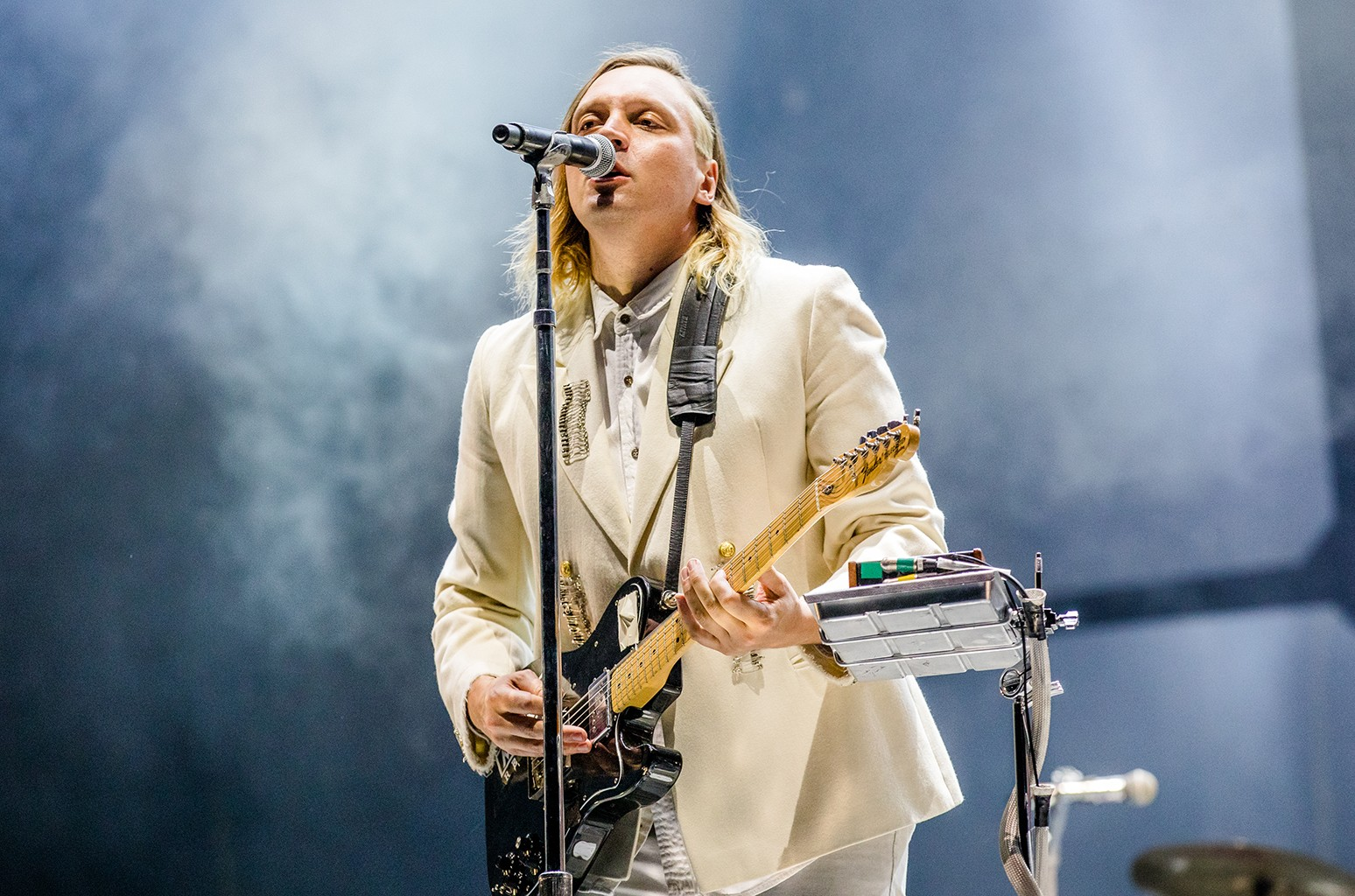 Arcade Fire performs at the Voodoo Music + Arts Experience