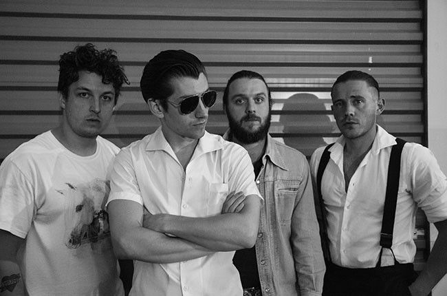 Arctic Monkeys at Firefly 2014.