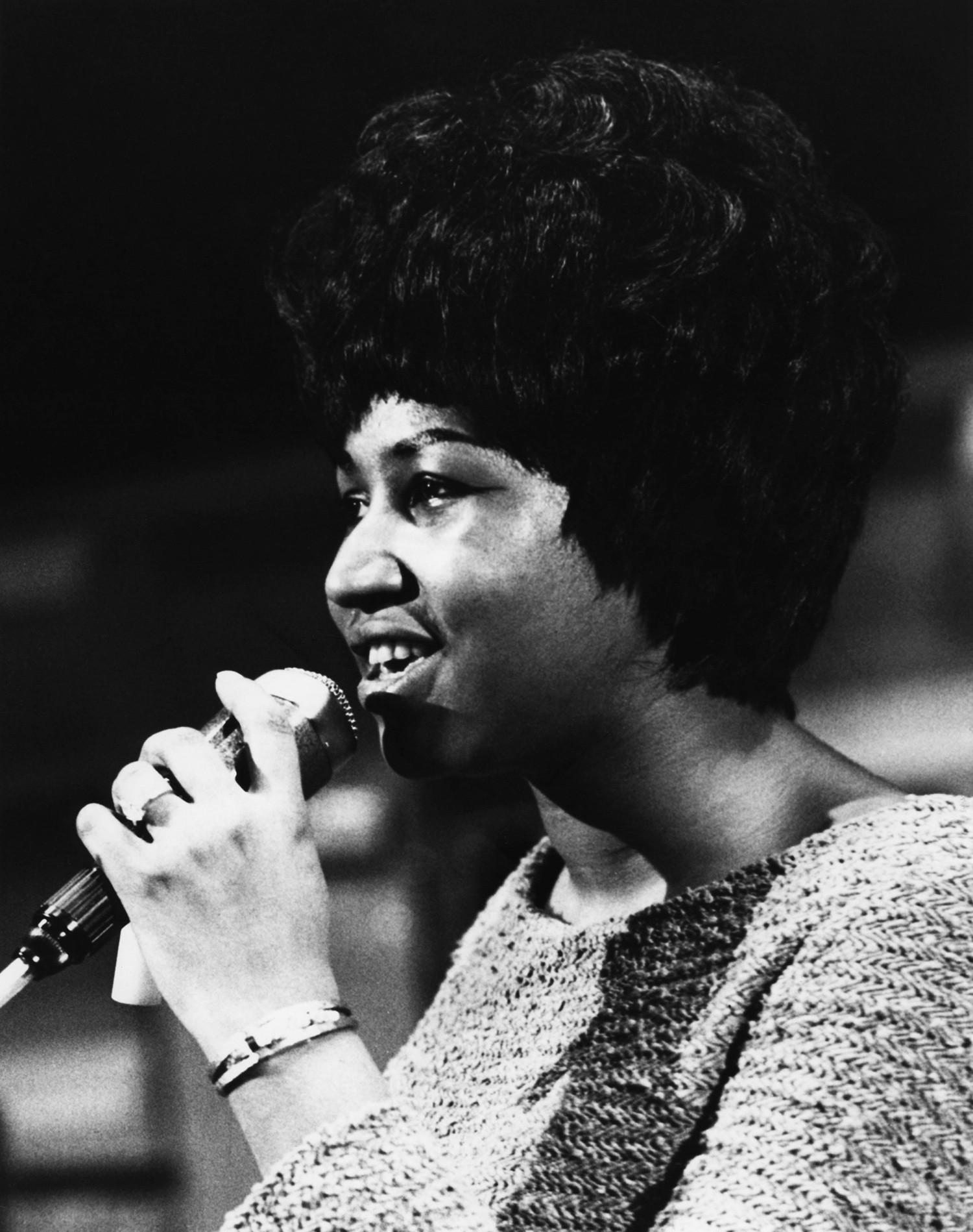 Aretha Franklin, 1960