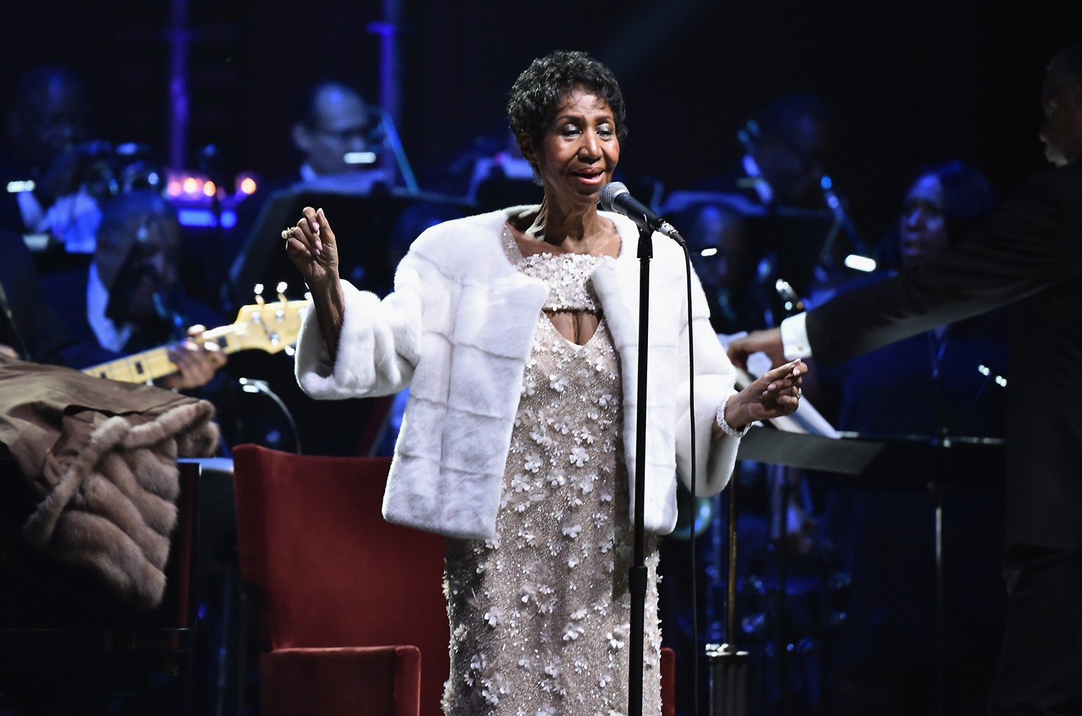 Aretha Franklin Elton John Aids Foundation