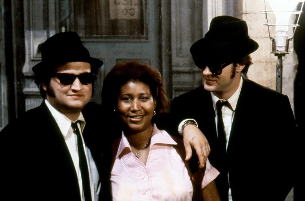 John Belushi, Aretha Franklin and Dan Aykroyd