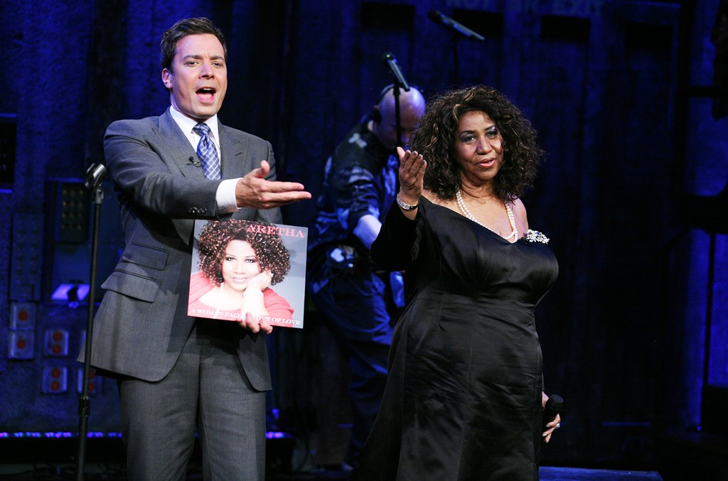 Aretha Franklin & Jimmy Fallon