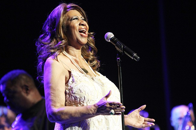 Aretha Franklin performs at the 2014 Festival International de Jazz de Montreal