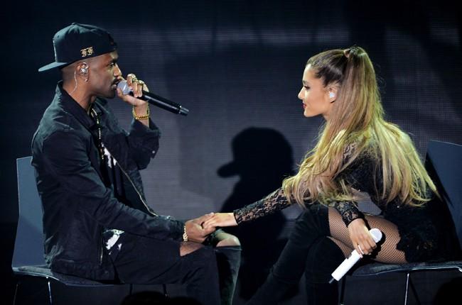 Ariana Grande with Big Sean in 2014